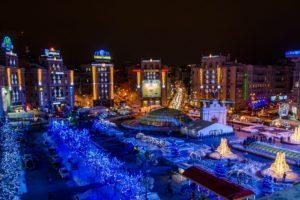 Новогодние огни златоглавого Киева 2019!