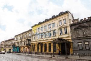 Новый год 2021, гостиница в центре Львова