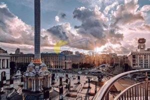 Ноябрьские праздники во Львове
