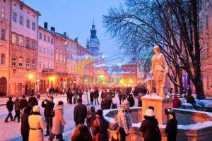 Новый Год во Львове 2021 «Спутник»