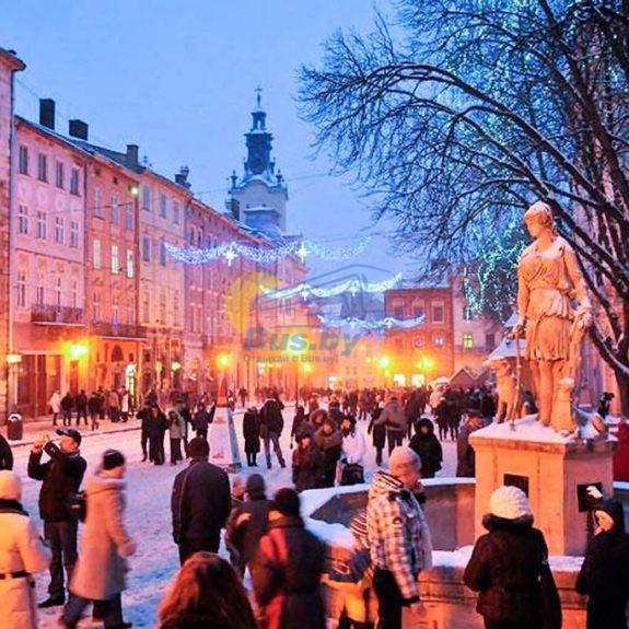 Новый Год во Львове 2020 «Спутник»